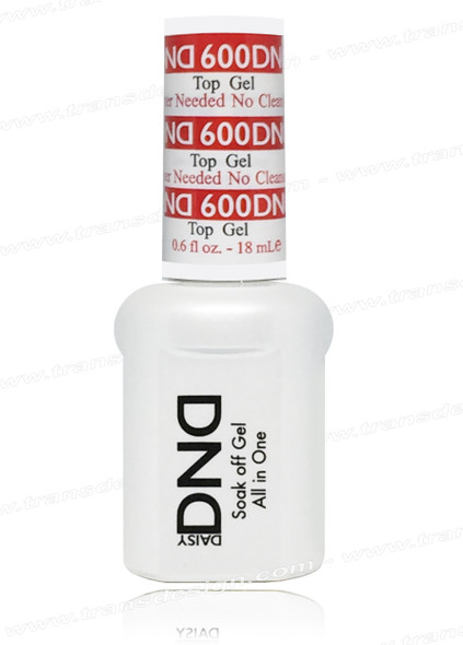 DND Gel - Top Gel | No Cleanser Needed