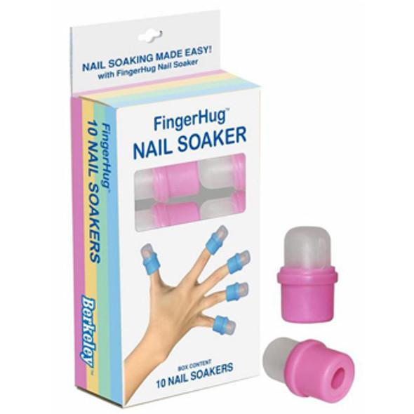 PINK FingerHug Nail Soaker 10Pcs
