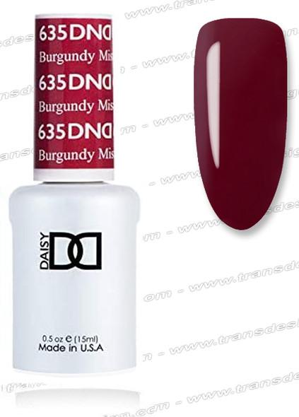 DND Gel Duo - Burgundy Mist
