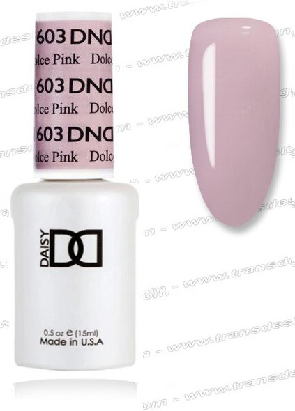 DND Gel Duo - Dolce Pink