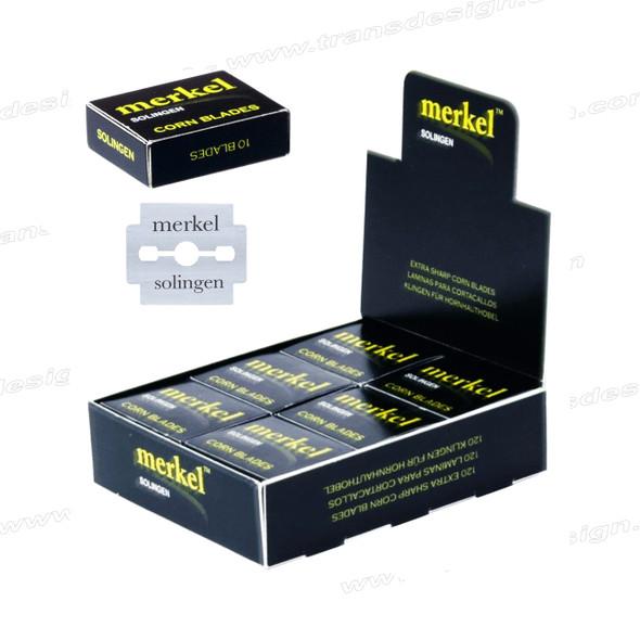 MERKEL Ultra Sharp Double Edge Corn Blade 120/Box