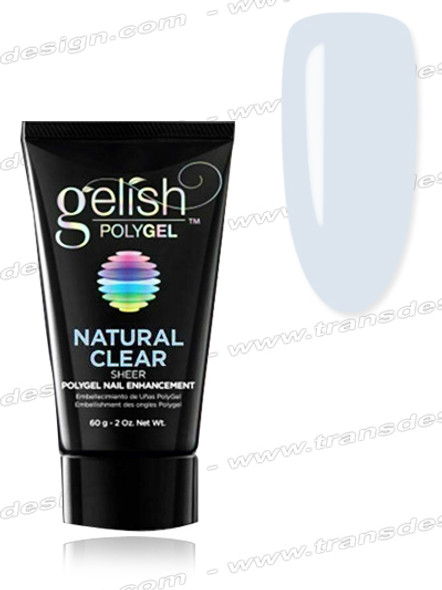GELISH PolyGel - Natural Clear (Sheer) 2oz.
