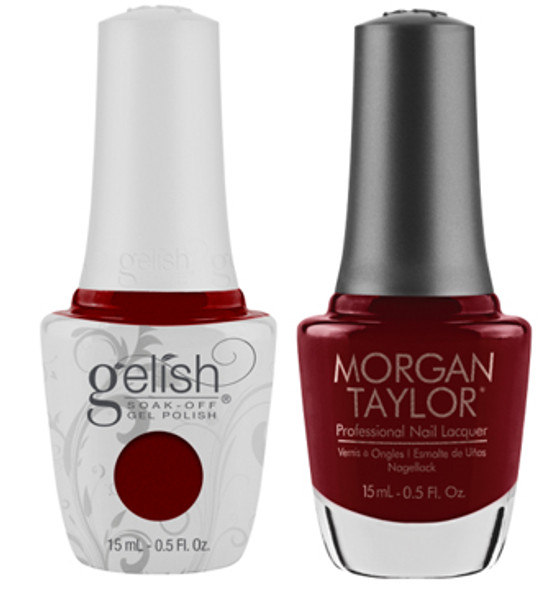GELISH/MORGAN TAYLOR Two Of A Kind - All Tango-d Up 0.5oz. 2/Pack*