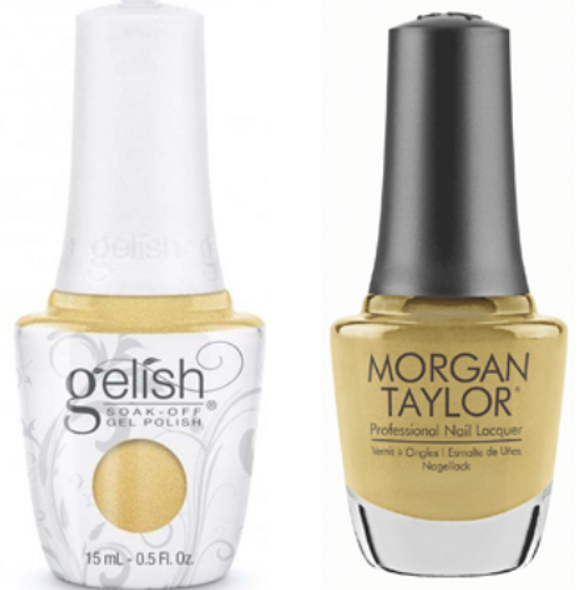 GELISH/MORGAN TAYLOR Two Of A Kind - Just Tutu Much 0.5oz. 2/Pack*