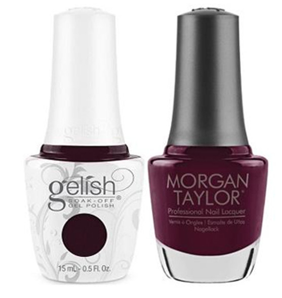 GELISH/MORGAN TAYLOR Two Of A Kind - Let's Kiss & Warm Up 0.5oz. 2/Pack*