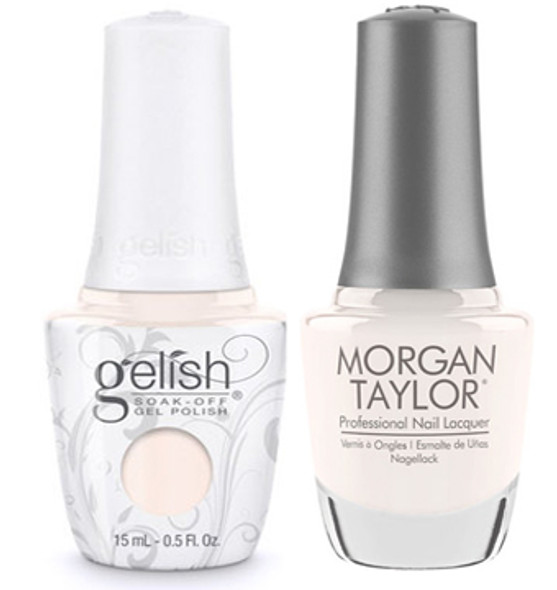GELISH/MORGAN TAYLOR Two Of A Kind - My Main Freeze 0.5oz. 2/Pack*