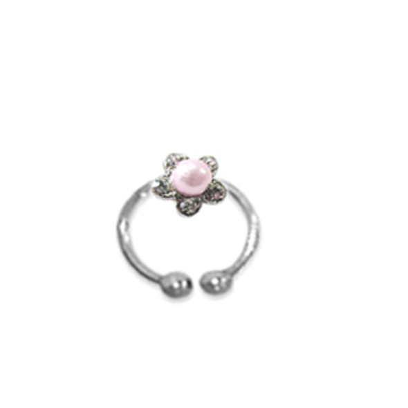 Adjustable Toe Ring Pink