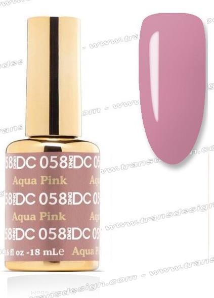 DND DC Duo Gel Polish – Aqua Pink