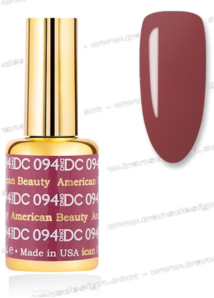 DND DC Duo Gel Polish – American Beauty