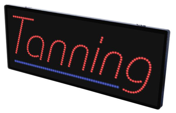 LED Sign - TANNING with 2 Colors * ( Pick Up Only )