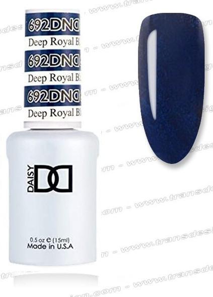 DND Gel Duo - Deep Royal Blue