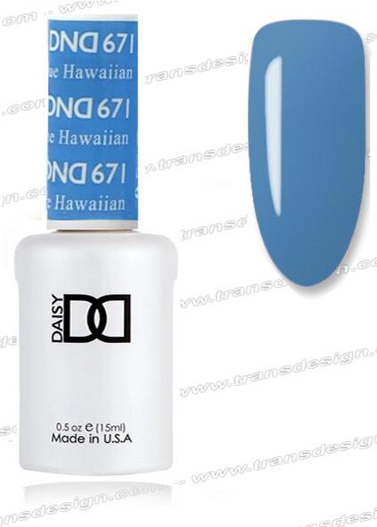 DND Gel Duo - Blue Hawaiian