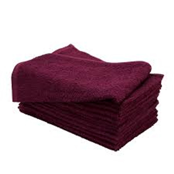 "ALLURE29-TOWEL Burgundy 16""x29"""