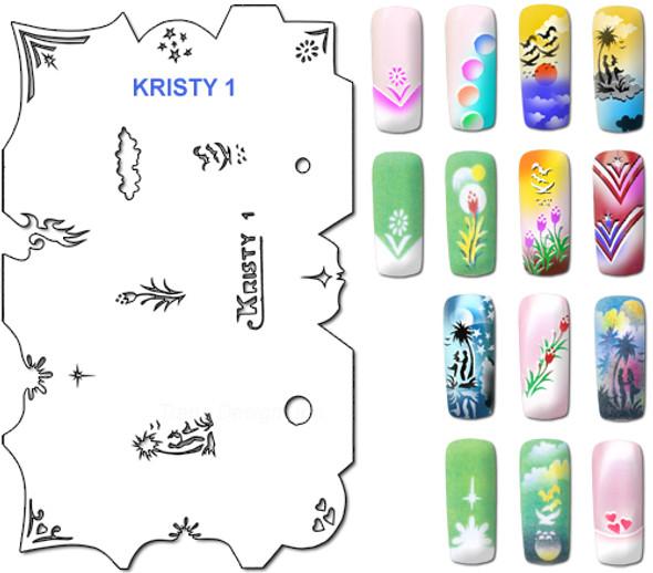 Stencil Kristy K1
