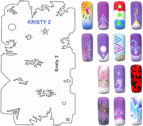 Stencil Kristy K2