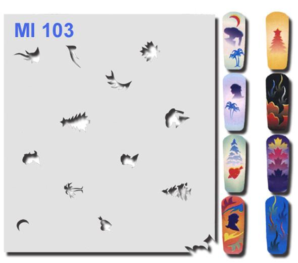 Stencil MI103