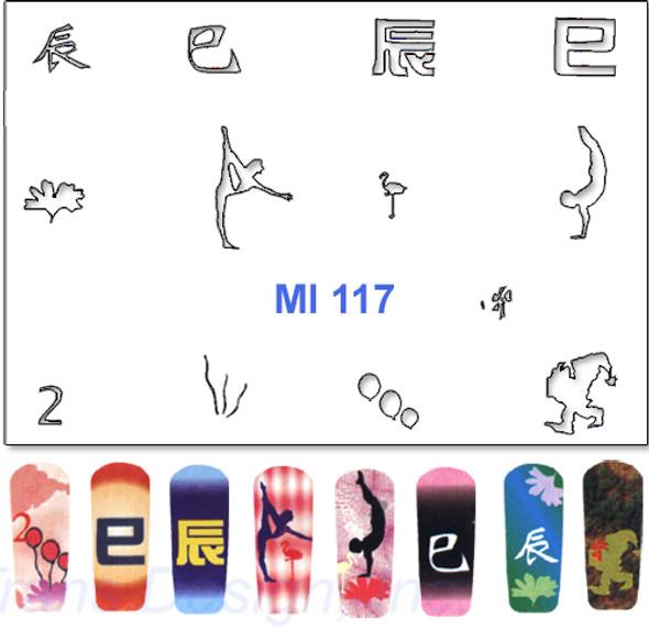 Stencil  MI117