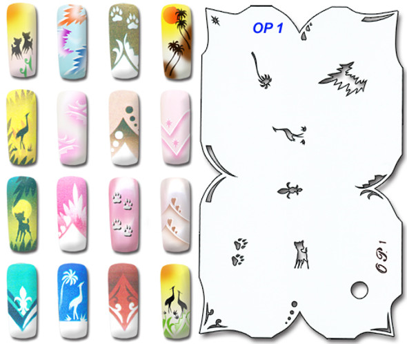 Stencil OP-1