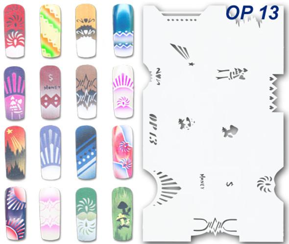 Stencil OP-13