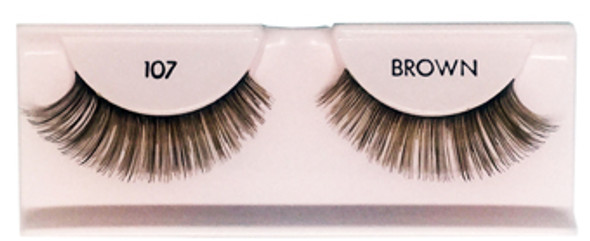 ARDELL - Fashion/Natural Lashes #107 (Brown)