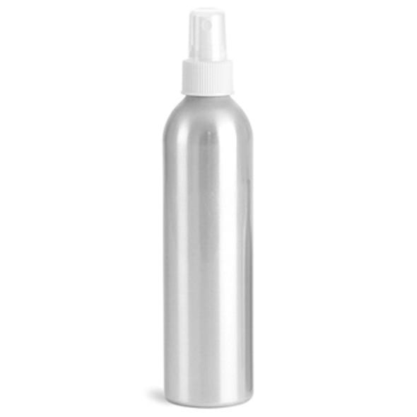 BOTTLE-Aluminum/Mist Sprayer Top 8.5oz.