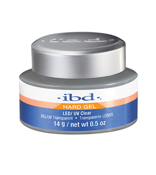 IBD Clear LED/UV Gel  0.5oz.