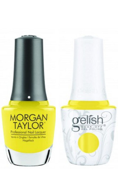 GELISH/MORGAN TAYLOR Two Of A Kind - Glow Like A Star 0.5oz. 2/Pack*