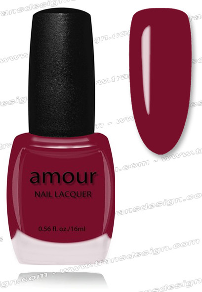 AMOUR Nail Lacquer - Waitress Red 0.56oz.(S)