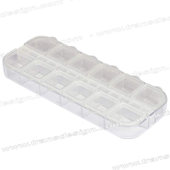 BOX Mini Plastic Box 12 Compartment