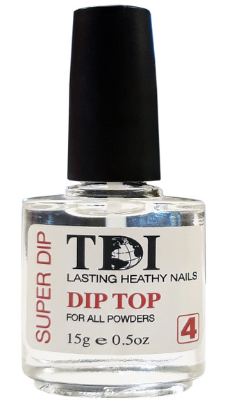 TDI Super Dip 4 Gel Top 0.5oz