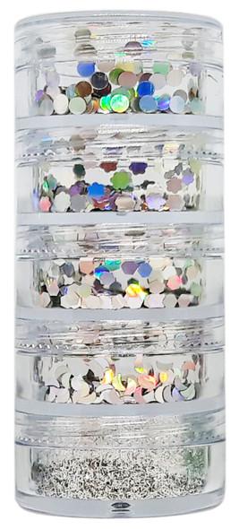 Nail Art Decoration Glitter Kit II