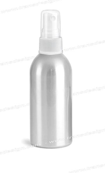 BOTTLE-Aluminum/Mist Spray Top 4oz.