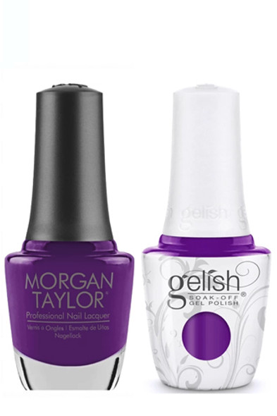 GELISH/MORGAN TAYLOR Two Of A Kind - One Piece Or Two? 0.5oz. 2/Pack*
