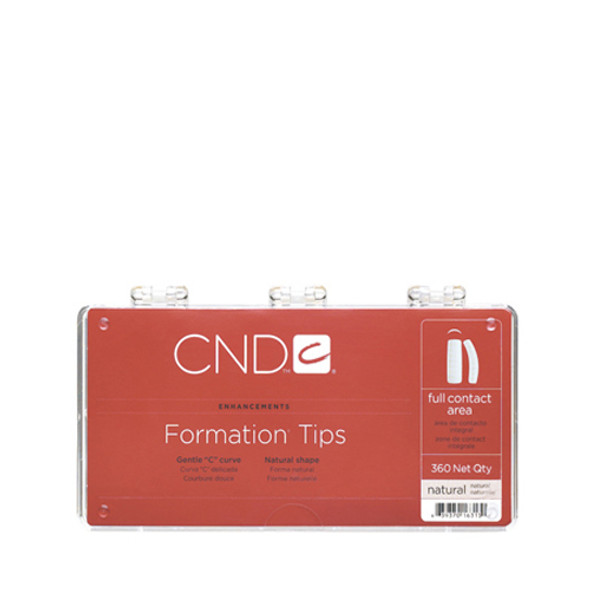 CND - Formation  Natural Tips 360/Pack