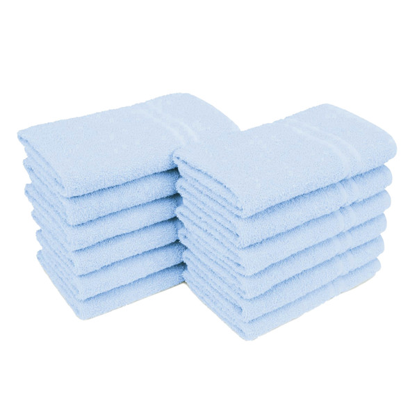 "ALLURE29-TOWEL Sky Blue 16""x29"""