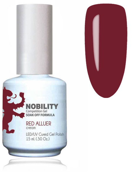 LECHAT NOBILITY Gel Polish & Nail Lacquer Set - Red Alluer