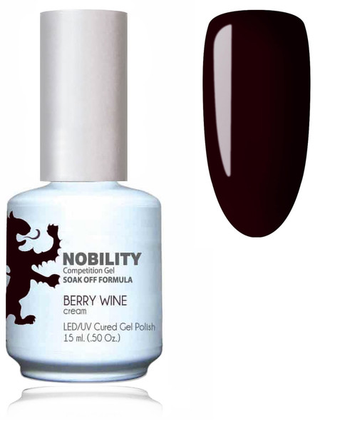LECHAT NOBILITY Gel Polish & Nail Lacquer Set - Berry Wine