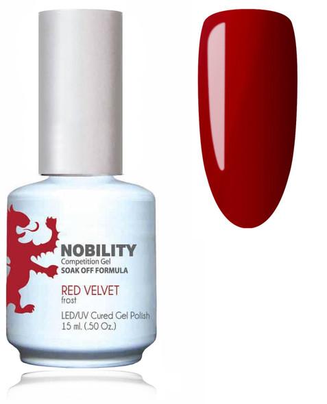 LECHAT NOBILITY Gel Polish & Nail Lacquer Set - Red Velvet