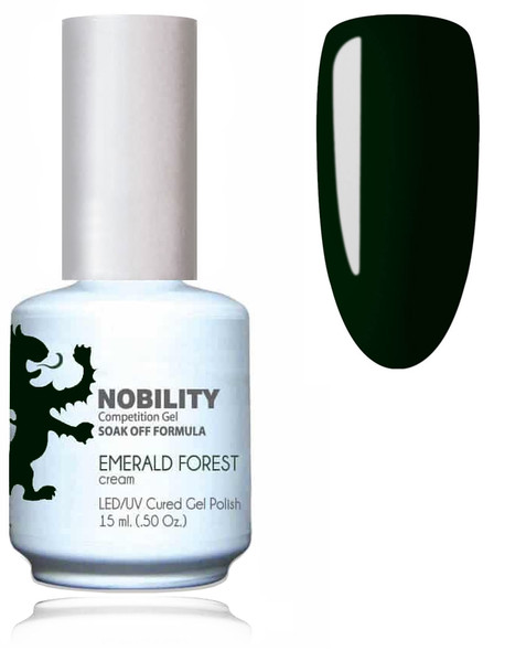 LECHAT NOBILITY Gel Polish & Nail Lacquer Set - Emerald Forest