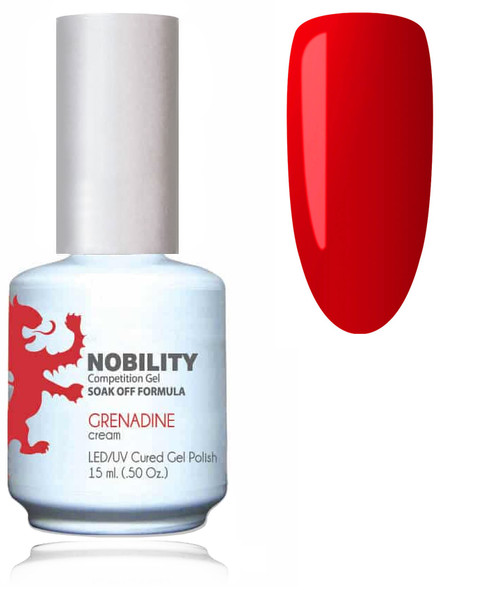 LECHAT NOBILITY Gel Polish & Nail Lacquer Set - Grenadine