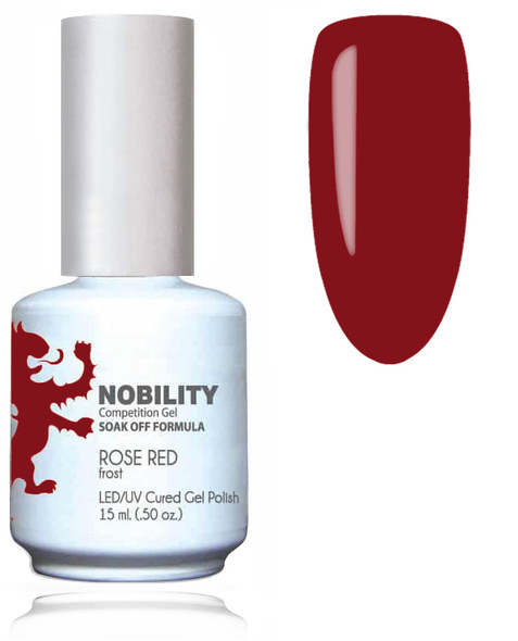 LECHAT NOBILITY Gel Polish & Nail Lacquer Set -Rose Red