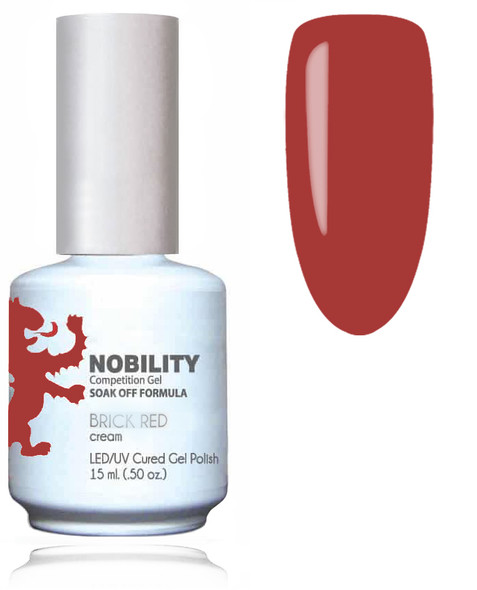 LECHAT NOBILITY Gel Polish & Nail Lacquer Set - Brick Red