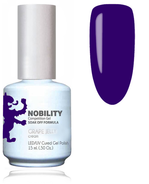 LECHAT NOBILITY Gel Polish & Nail Lacquer Set - Grape Jelly