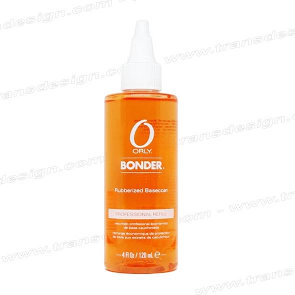 ORLY Nail Treatment Bonder Rubberized Basecoat 4oz.