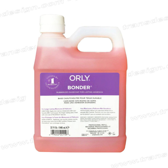 ORLY Nail Treatment Bonder Rubberized Basecoat 32oz.
