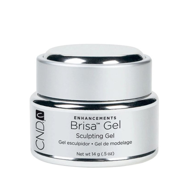 CND BRISA - Pure White Opaque Sculpting Gel 0.5oz.