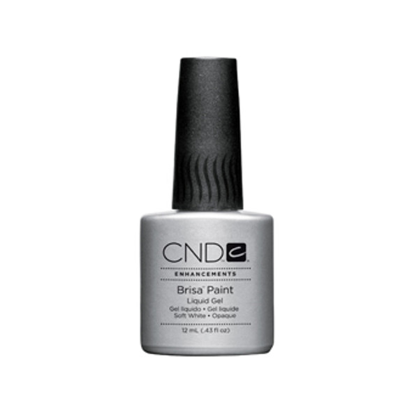 CND BRISA - Pure White Opaque Paint 0.43oz.