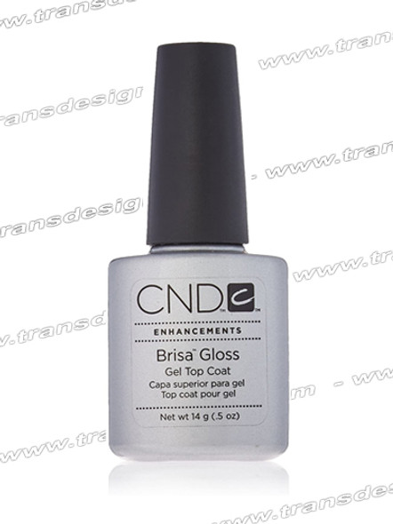 CND BRISA - Gloss Clear Top Coat 0.5oz.