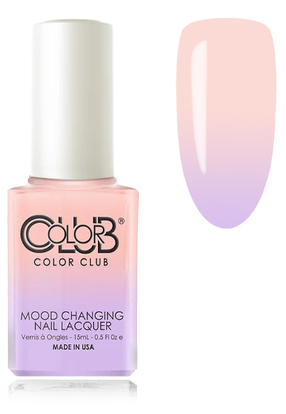 COLOR CLUB  Mood Nail Lacquer - Everything's Peachy