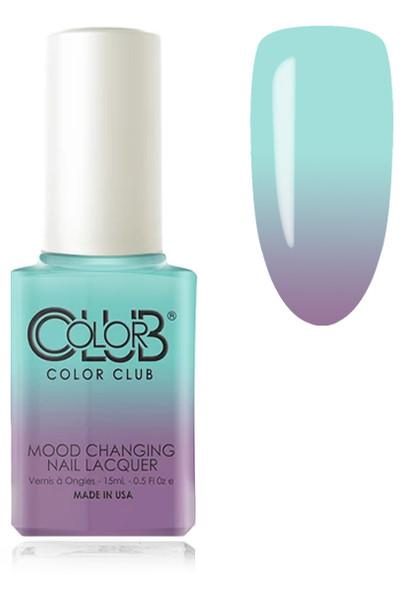 COLOR CLUB  Mood Nail Lacquer - Serene Green